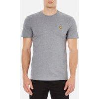 Lyle & Scott Men's Crew Neck T-Shirt - Mid Grey Marl - S - Grey