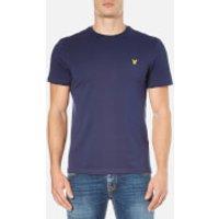 Lyle & Scott Mens Crew Neck T-Shirt - Navy - L - Blue