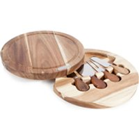 Natural Life Cheese Set with Cutting Board (4 Piece)