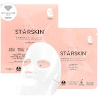 STARSKIN Close-Uptm Coconut Bio-Cellulose Second Skin Firming Face Mask
