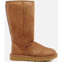 UGG-Womens-Classic-Tall-II-Sheepskin-Boots-Chestnut-UK-7-5-Tan