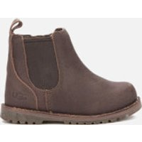 UGG Toddlers' Callum Suede Chelsea Boots - Chocolate - UK 5 Toddler - Brown
