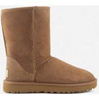 UGG Women's Classic Short II Sheepskin Boots - Chestnut - UK 3