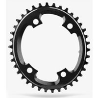 AbsoluteBLACK Shimano Oval CX Chainring - 38T - 4 Bolt 110BCD - Black