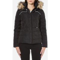 Superdry Womens Glacier Biker Jacket - Black - M - Black