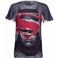 DC Comics Mens Superman Tear T-Shirt - Grey - M - Grey