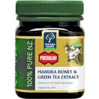 Manuka Health MGO 250+ Manuka Honey Plus Green Tea Extract 500g