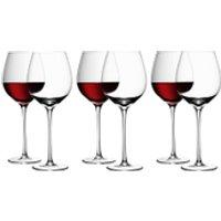 LSA Red Wine Glasses - 750ml (Set of 6)