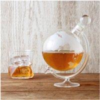 Glass Globe Whisky Decanter