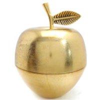 Apple Trinket Pot - Shiny Brass - Kitchen Gifts