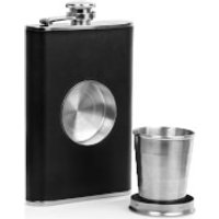 Hunters Stainless Steel Hip Flask and Shot Glass - Shot Glass Gifts