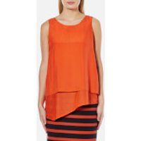 BOSS Orange Womens Evelo Top - Bright Red - UK 8 - Red