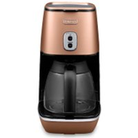 DeLonghi ICMI211.CP Distinta Filter Coffee Maker - Matt Copper