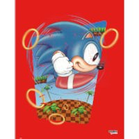 Sonic the Hedgehog 'Rings' Art Print - Rings Gifts