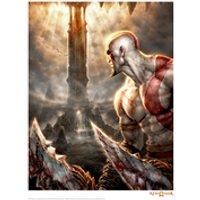 God Of War 'Look' Art Print - 14 x 11