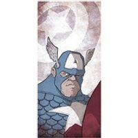 Americas Captain Captain America Fine Art Print - 16.5 x 9.7