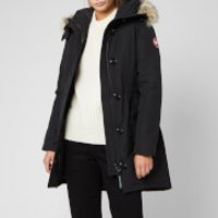 Canada Goose Women's Rossclair Parka Jacket - Black - L