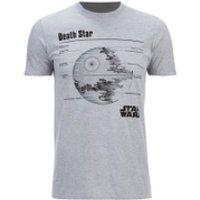 Star Wars Men's Death Star T-Shirt - Heather Grey - XL - Grey - Star Wars Gifts