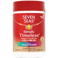 Seven Seas Cod Liver Oil Plus Multivitamins - 30 Capsules