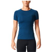 adidas Womens Performance Training T-Shirt - Black - L - Black