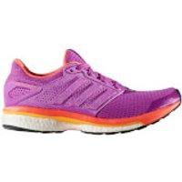 adidas Womens Supernova Glide 8 Running Shoes - Purple - US 6.5/UK 5 - Purple