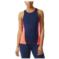 adidas Womens Stella Sport Easy Training Tank Top - Blue/Pink - S - Blue/Pink
