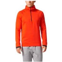 adidas Mens Climaheat Half Zip Training Hoody - Orange - L - Orange