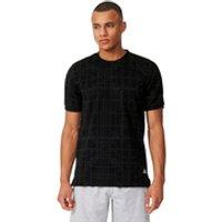adidas Mens Graphic DNA Training T-Shirt - Black - M - Black