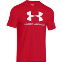 Under Armour Mens Sportstyle Logo T-Shirt - Red - XL - Red