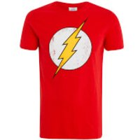 DC Comics Mens Flash T-Shirt - Red - L - Red