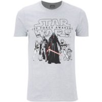 Star Wars Men's The First Order T-Shirt - Grey - XXL - Grey - Star Wars Gifts
