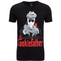 Cookie Monster Men's Cookiefather T-Shirt - Black - S - Black