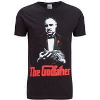 The Godfather Men's The Godfather T-Shirt - Black - M - Black - The Godfather Gifts