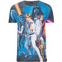 Star Wars Mens Classic Poster T-Shirt - Black - XXL - Black