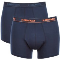 Head Mens 2-Pack Boxers - Peacoat - S - Blue
