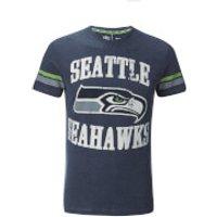 NFL Mens Seattle Seahawks Logo T-Shirt - Navy - S