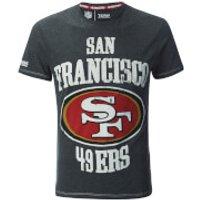 NFL Mens San Francisco 49ers Logo T-Shirt - Grey - S