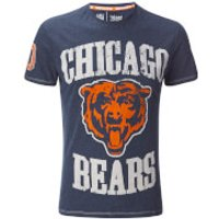 NFL Mens Chicago Bears Logo T-Shirt - Navy - S - Navy
