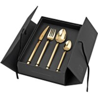 Broste Copenhagen Tvis Gold Cutlery Set - Cutlery Set Gifts