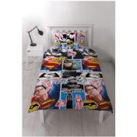 Batman v Superman Clash Rotary Duvet Set - Double - Superman Gifts