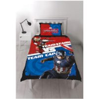 Captain America: Civil War Panel Duvet Set - Single
