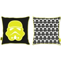 Star Wars Classic Stormtrooper Canvas Square Cushion - 40 x 40cm - Stormtrooper Gifts