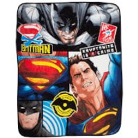 Batman v Superman Clash Coral Fleece Blanket - 120 x 150cm - Blanket Gifts