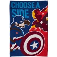 Captain America: Civil War Polar Fleece Blanket - 100 x 150cm