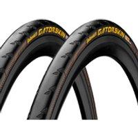 Continental Gatorskin Folding Clincher Tyre Twin Pack - 700c x 23mm