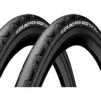 Continental Grand Prix 4000S II Clincher Tyre Twin Pack - 700c x 25mm
