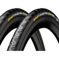 Continental Grand Prix 4Season Clincher Tyre Twin Pack - 700c x 23mm
