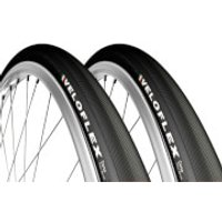 Veloflex Corsa 25 Clincher Tyre Twin Pack - 700c x 25mm - Black