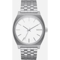 nixon the time teller watch  white
