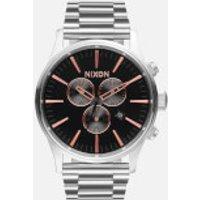 nixon-the-sentry-chrono-watch-grey-rose-gold